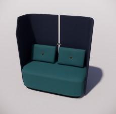 沙发_020_室内设计模型