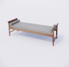 脚凳_002_室内设计模型