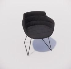 沙发椅_023_室内设计模型