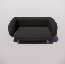 沙发_016_室内设计模型