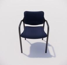 扶手椅_005_室内设计模型