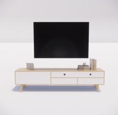 电视柜_004_室内设计模型