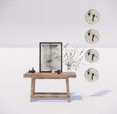 边柜_023_室内设计模型