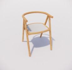 扶手椅_021_室内设计模型