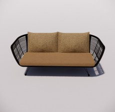 沙发_017_室内设计模型