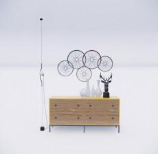 边柜_004_室内设计模型