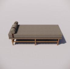 沙发_015_室内设计模型