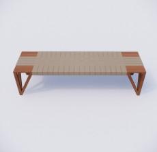 脚凳_008_室内设计模型