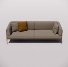 沙发_008_室内设计模型