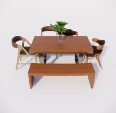 餐桌_005_室内设计模型