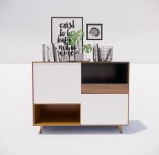 边柜_043_室内设计模型