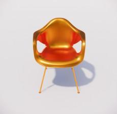 躺椅_010_室内设计模型