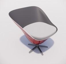 吧椅_008_室内设计模型