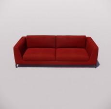沙发_012_室内设计模型