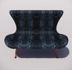 沙发_022_室内设计模型