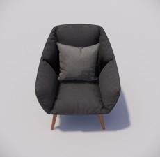 沙发_044_室内设计模型