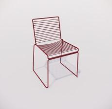 靠背椅_161_室内设计模型