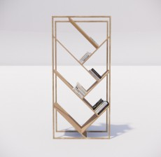 置物架_002_室内设计模型