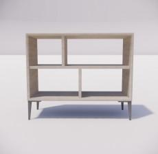 板式家具_034_室内设计模型
