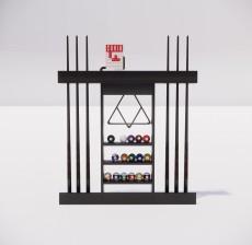 置物架_001_室内设计模型