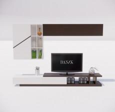 电视柜_003_室内设计模型