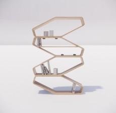 置物架_006_室内设计模型