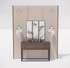 边柜_015_室内设计模型