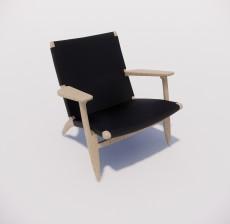 沙发椅_019_室内设计模型