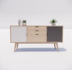 边柜_041_室内设计模型