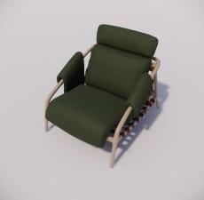 沙发_041_室内设计模型