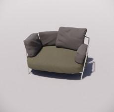 沙发_013_室内设计模型
