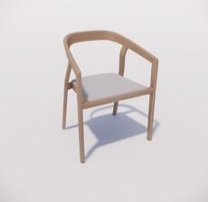 扶手椅_006_室内设计模型