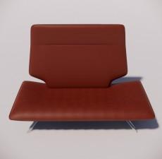 沙发_014_室内设计模型