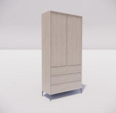 板式家具_008_室内设计模型