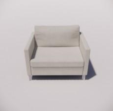 沙发_024_室内设计模型
