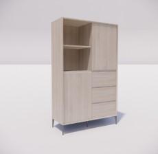 板式家具_022_室内设计模型