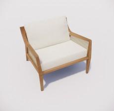 沙发椅_016_室内设计模型