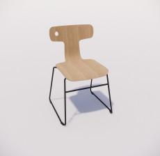 办公椅_004_室内设计模型