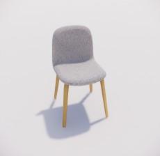 沙发椅_020_室内设计模型
