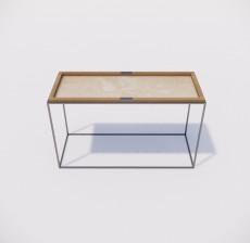 茶几边几_010_室内设计模型
