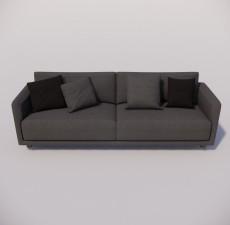 沙发_047_室内设计模型