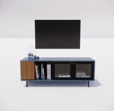 电视柜_002_室内设计模型