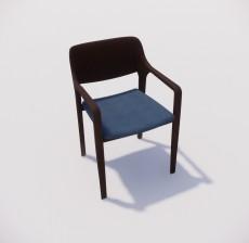 扶手椅_033_室内设计模型