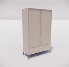 板式家具_019_室内设计模型