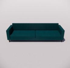 沙发_030_室内设计模型