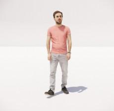 男_084_室内设计模型