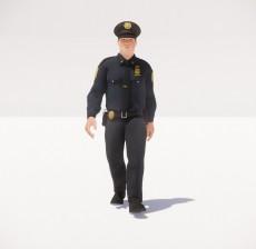 警察_064_室内设计模型