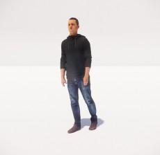 男_071_室内设计模型