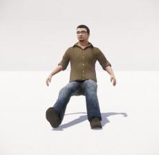 男_053_室内设计模型