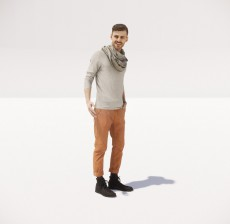 男_101_室内设计模型